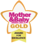 mother baby gold award